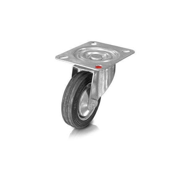 Összecsukható kézikocsi acélfelnis kerékkel, rakfelület 910x610mm, 300 kg