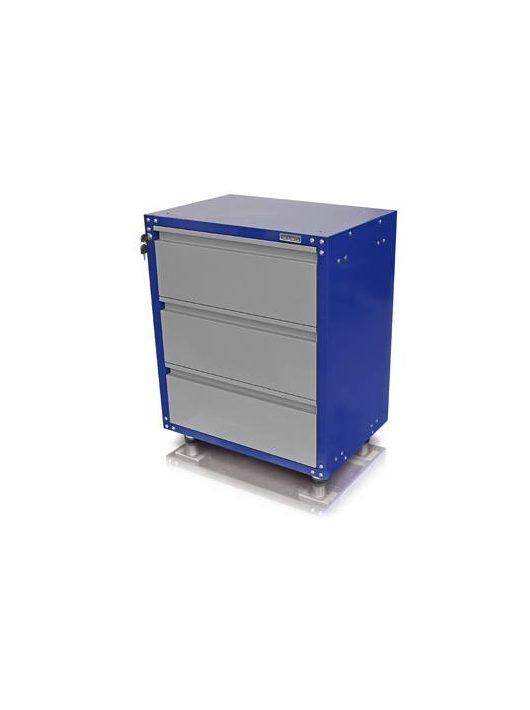 Zárható fiókos szekrény / munkapadláb