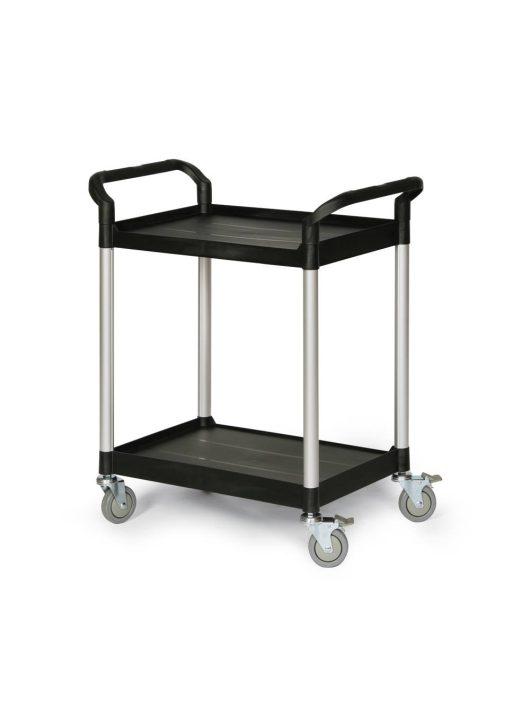 Protaurus Műanyag asztalkocsi, rakfelület: 680 x 450 mm, 125 kg