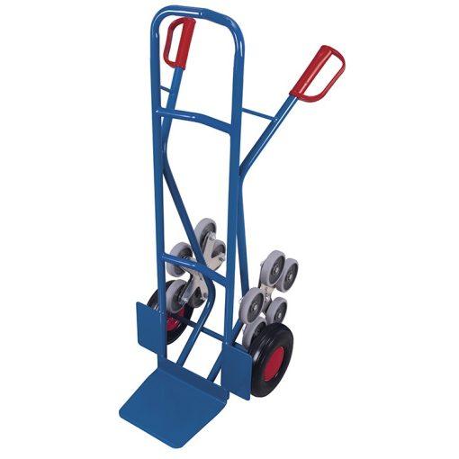 Variofit lépcsőnjáró molnárkocsi kiegészítő kerékkel, 300 kg