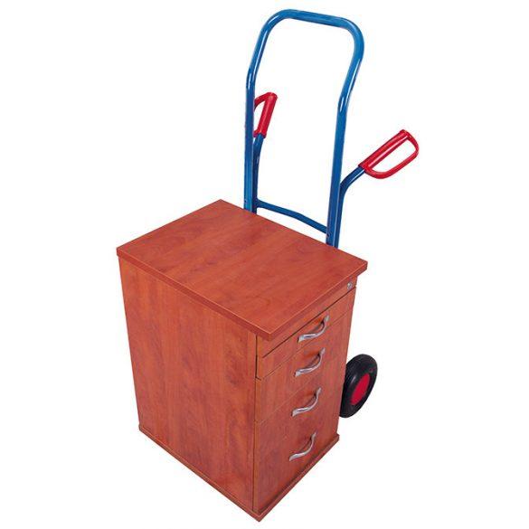 Bútorszállító molnárkocsi tömörgumival /250 kg/