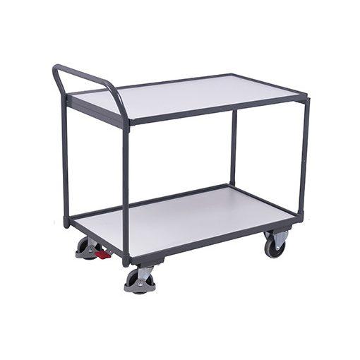 ESD asztalkocsi 2 rakfelülettel